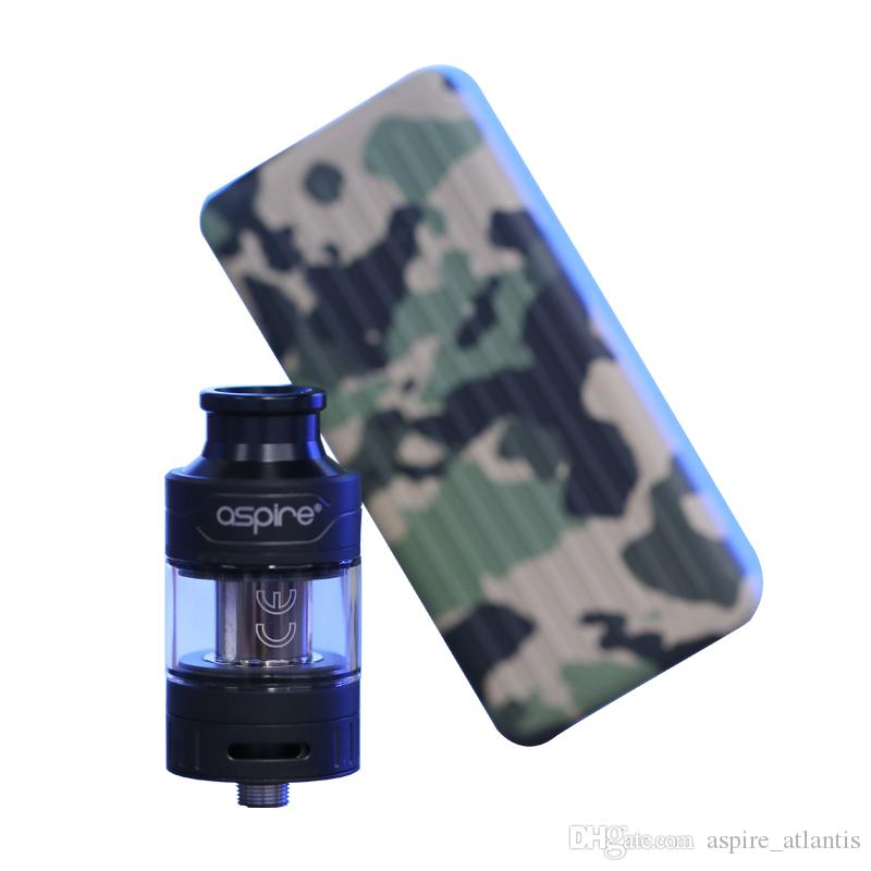 100% Aspire Puxos Kit allows for 18650/20700/21700mAh battery types suits Cleito/Cleito EXO tanks
