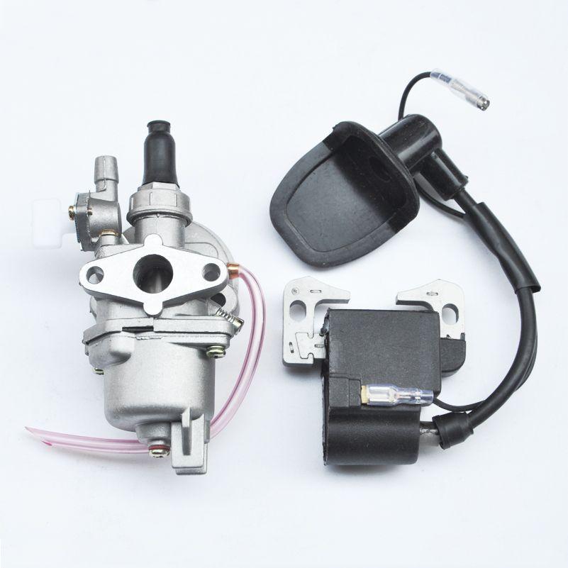 13MM Carburetor Ignition Coil For 2 Stroke 43cc 47cc 49cc Engine Pocket  Dirt Bike ATV