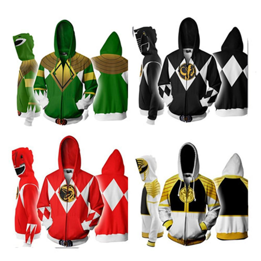 Grosshandel Halloween Karneval Manner Anime Power Rangers Kostum