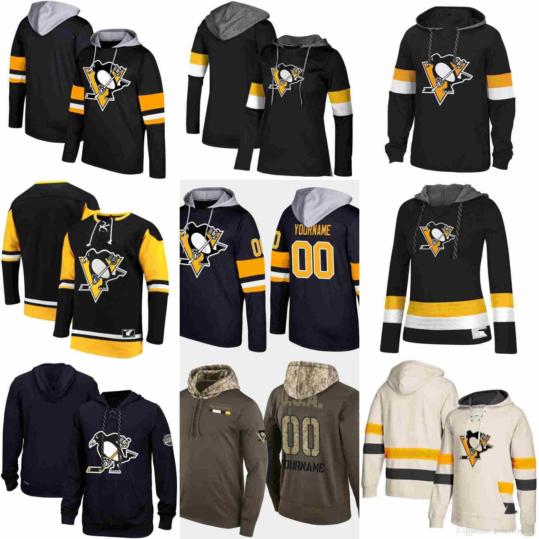 2019 Pittsburgh Penguins Hoodie Sidney Crosby Evgeni Malkin Jake Guentzel  Kris Letang Patric Hornqvist Hockey Jersey Sweatshirt Stitched From  Jerseys online ... 28a55f1c0