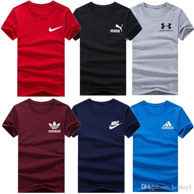 ec44114a2 Compre Camisetas De Lujo Para Los Hombres De Las Mujeres De La Marca De  Manga Corta