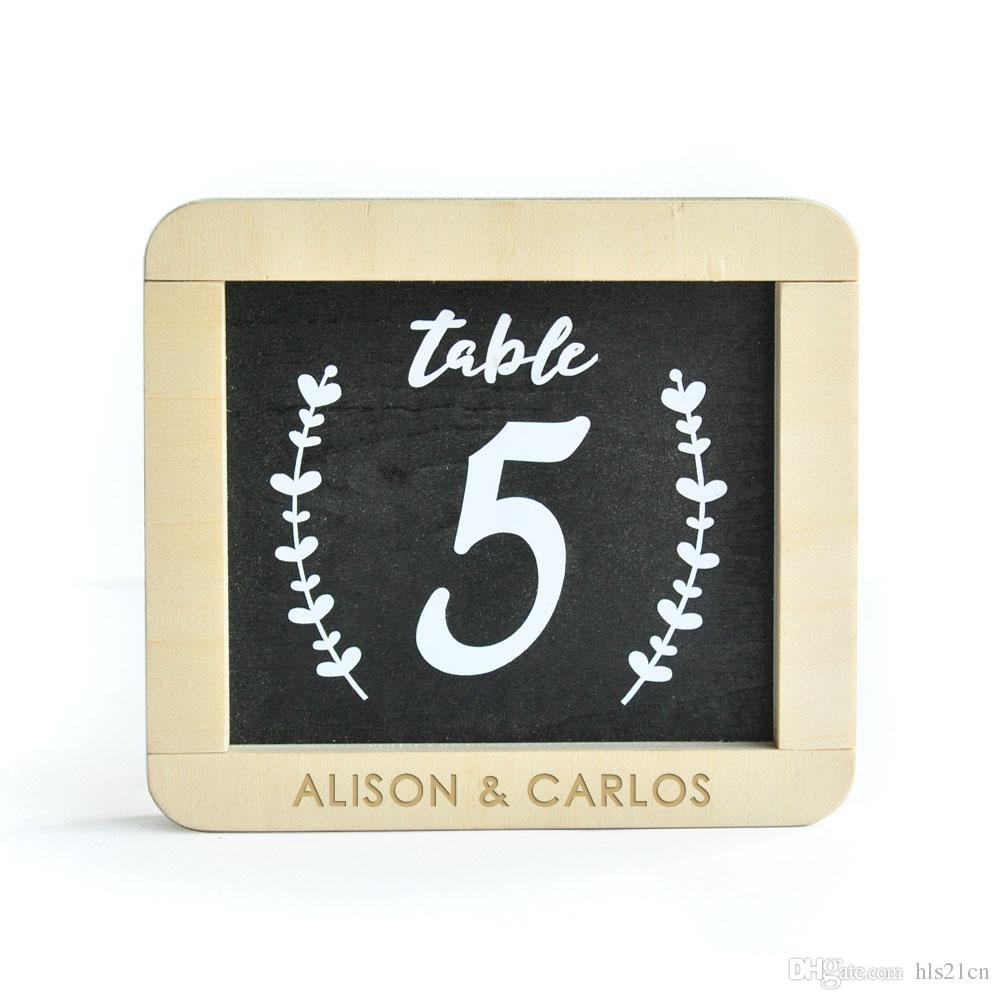 2018 Personalized Wedding Table Numbers,1 10 Wooden Table Numbers ...