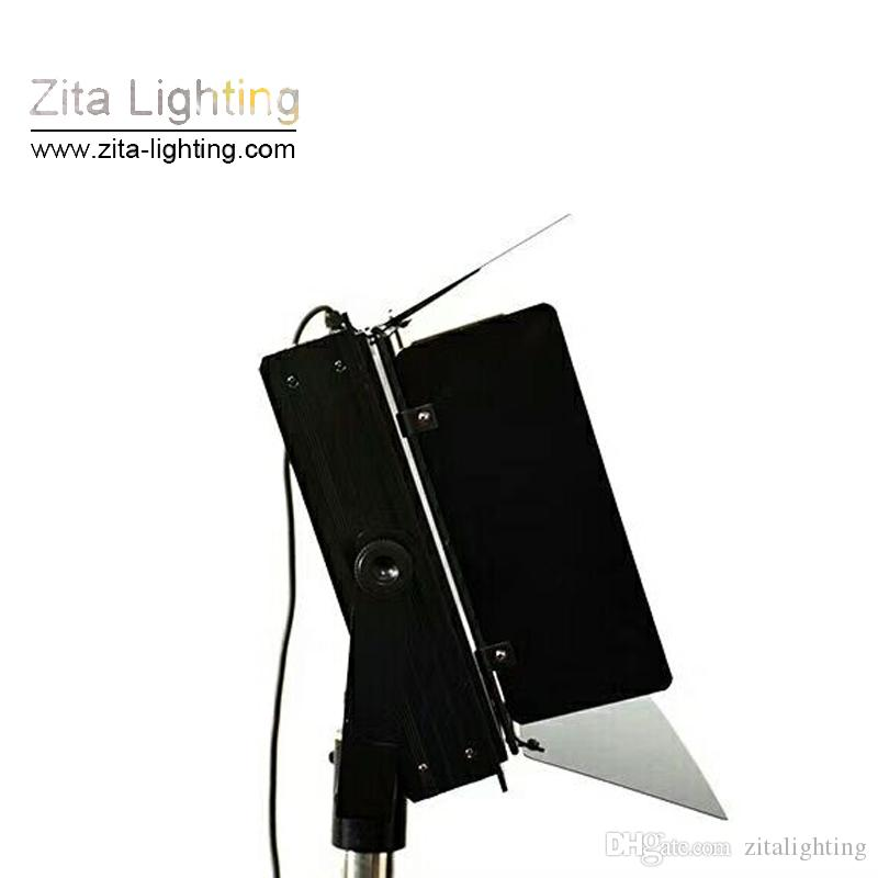 Zita Lighting LED Studio Flat Panel Lights DMX Photography Shooting Par Lighting Hall Three Primary Color Gradual Dimmable Conference Room