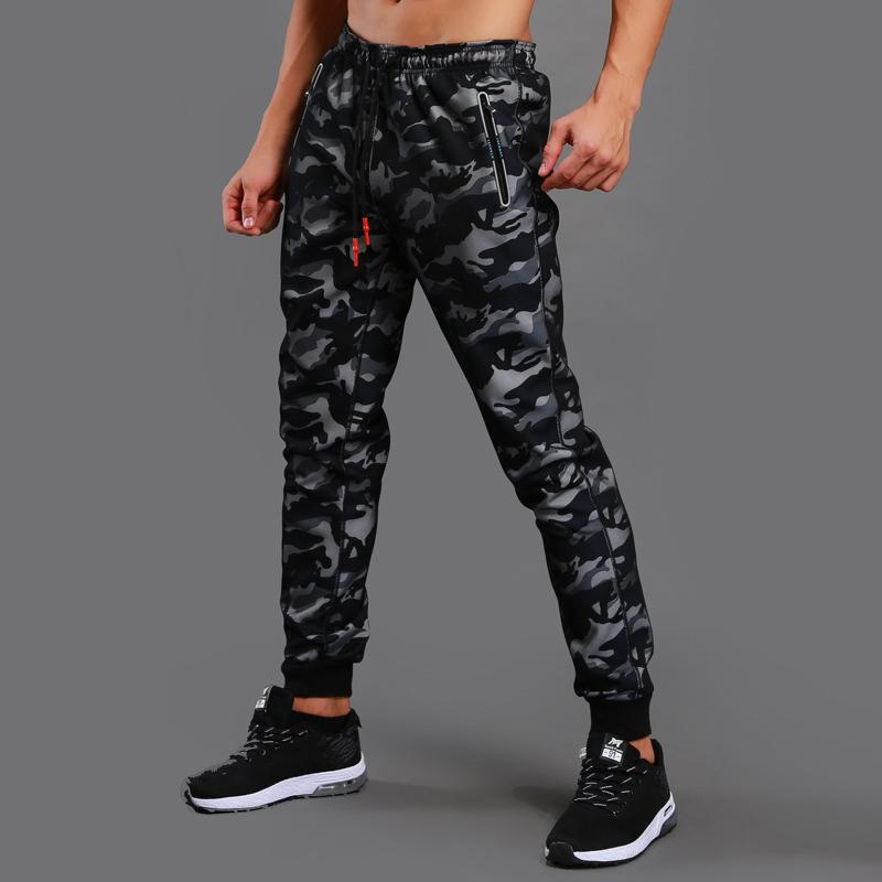 Compre Nuevo Run Pantalones Deportivos Hombre Camo Pantalones De Chándal  Pantalones Deportivos Hombres Bodybuilding Pista Rashgard Gym Jogger  Crossfit ... c435a94acb02