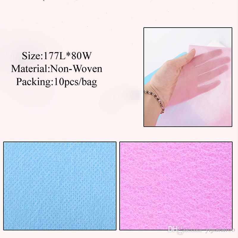 10 pz / lotto impermeabile non tessuto usa e getta lenzuolo panno trucco permanente salone di bellezza cosmetica microblading accessori tatuaggio supplie
