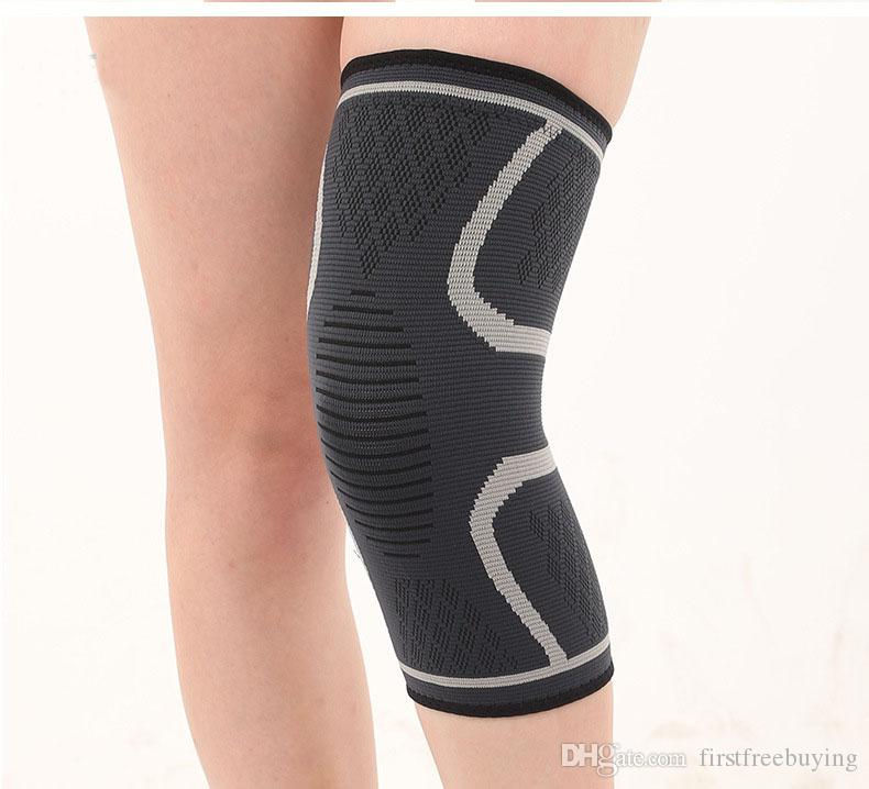Sports Knee Brace Sleeve Pressure Strap Compression Fit Support for Soccer Basketball Running knee pad
