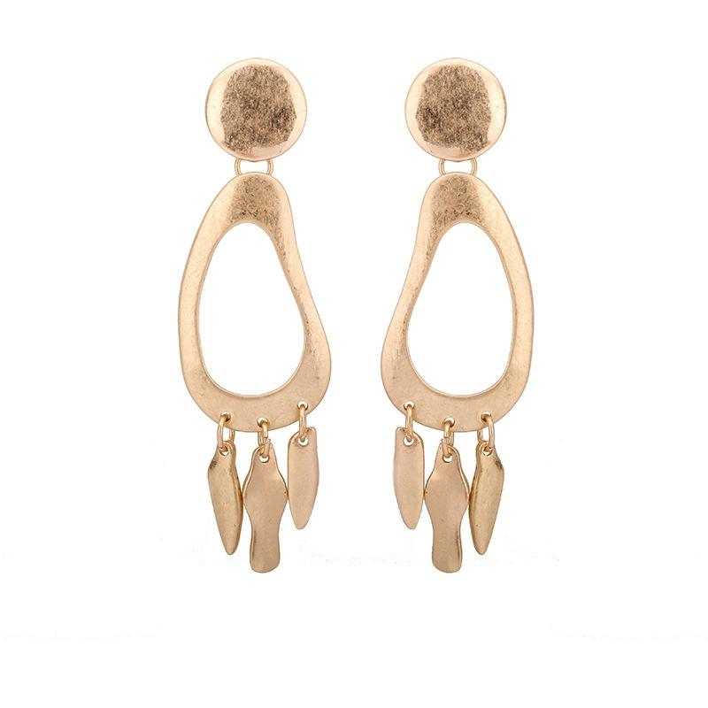 98005a76f 2019 Ethnic Earrings Indian Jewelry Classic Dangle Stud Earrings Party Gift  Gold Color Tassel Drop Earrings For Women From Statement, $3.42 | DHgate.Com