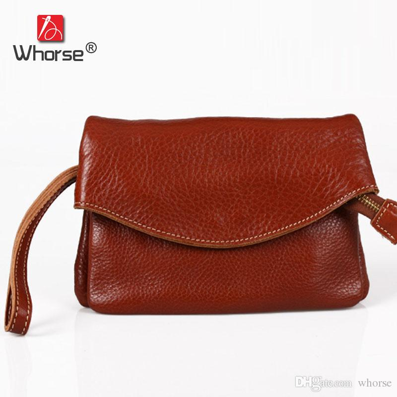Genuine Soft Leather Vintage Casual Small Double Layer Top Cowhide Womens  Crossbody Shoulder Messenger Bags Retro Big Clutch Bag For Women Mens Bags  ... 1905ddc9e56eb