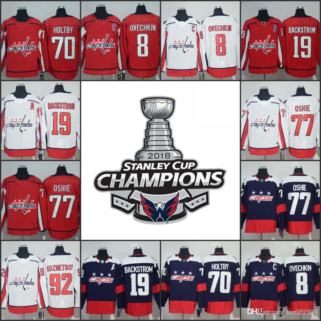 da5348dd1 2018 Stanley Cup Final Champion Men Women Kid 19 Nicklas Backstrom ...
