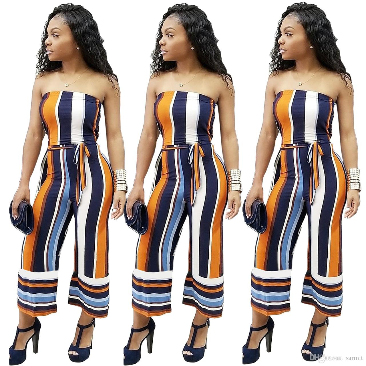2019 Capris Jumpsuit For Women 2018 Cheapest Rompers Overalls Womens