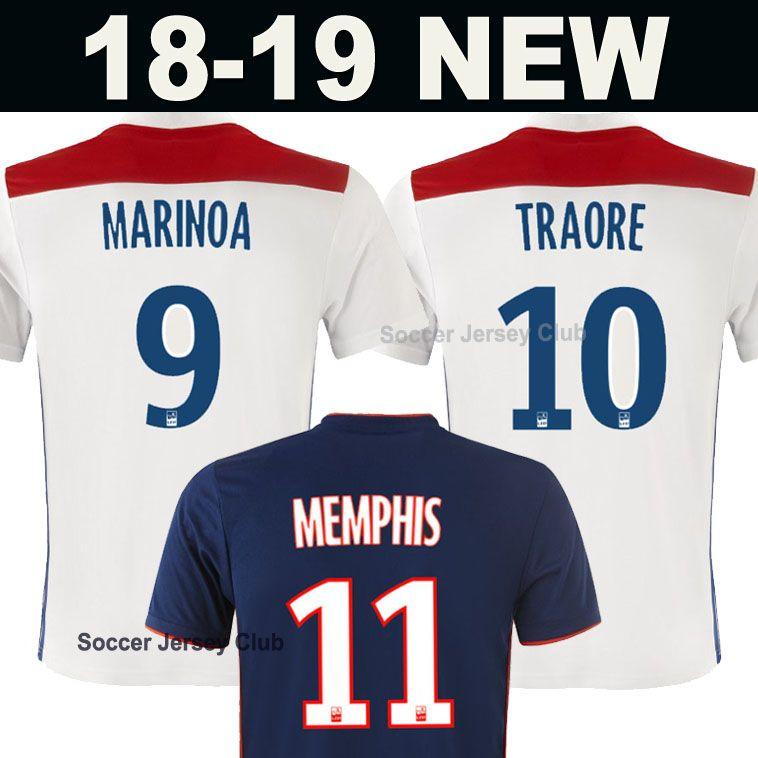 tenue de foot Olympique Lyonnais online