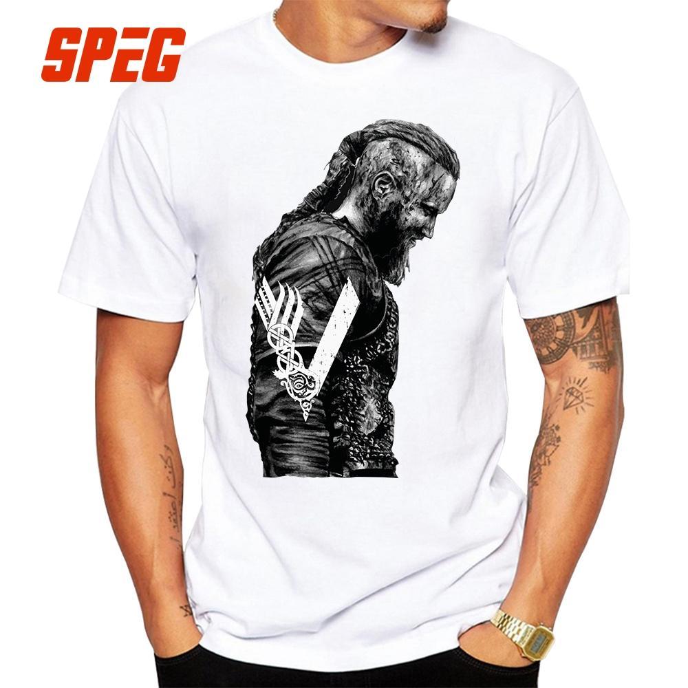 45d00ee7 T Shirts King Ragnar Lothbrok Vikings Man Organnic 100% Cotton Short Sleeve Tee  Shirts Hot Round Collar Man T Shirt Design Cheap T Shirt Design Your T Shirt  ...