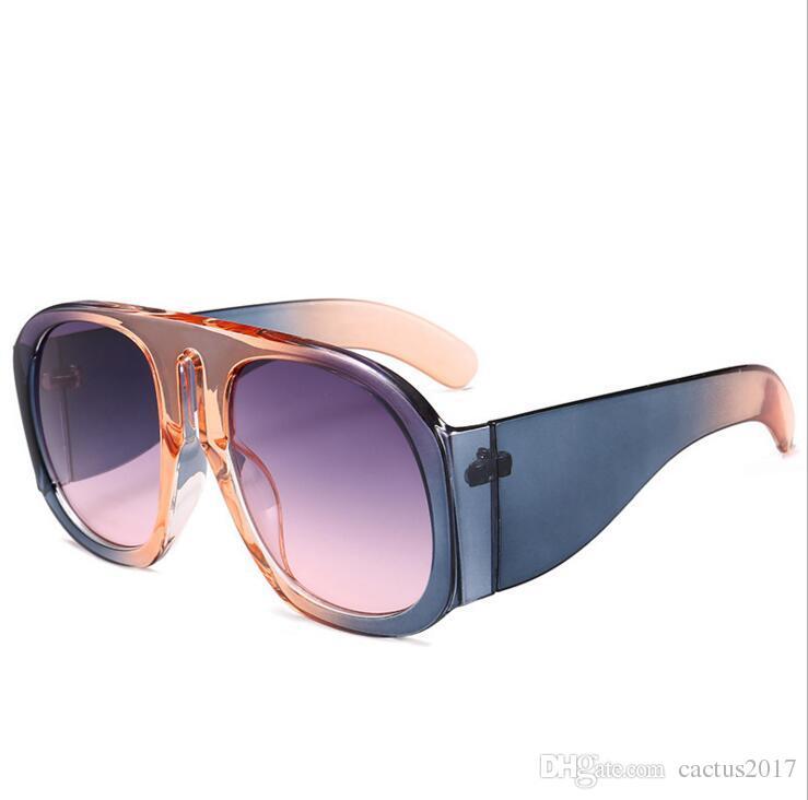 d2210c092f 2018 Big Frame Italy Brand Designer Oval Sunglasses Women Retro Famous  Oversized Sun Glasses Eyewear Gafas De Sol Shades Retro Sunglasses Baseball  ...