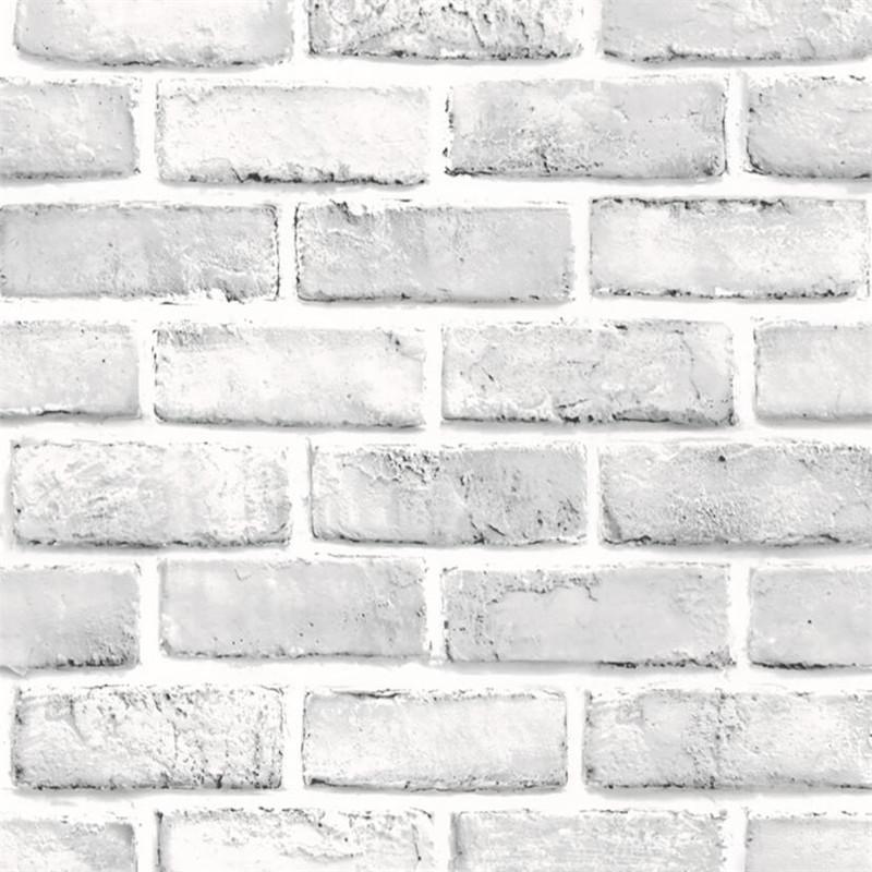 Acheter Blanc 45 * 100CM Brique Rétro Autocollant Décor Autocollant Effet  Rustique Pierre Conception Cuisine Mur Papier Peint Stickers Autocollants À  Vendre ...