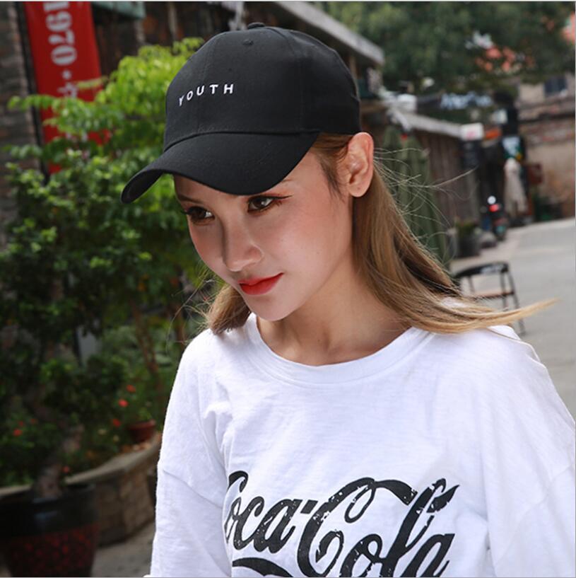 80387bf51b710 Compre Mulheres De Algodão De Verão Chapéu Chapéu Juventude Carta Impressão  Unisex Chapéus Boné De Beisebol Snapback Casual Ajustável Caps De Walon123