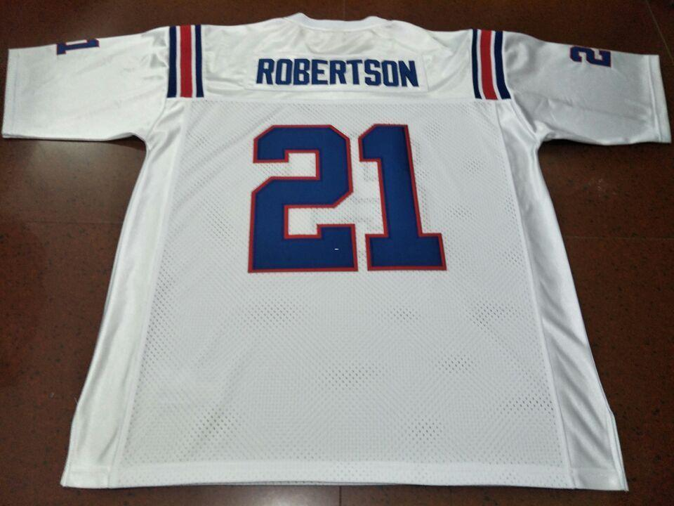the best attitude 9a564 58eb3 Men CUSTOM #21 ROBERTSON CUSTOM LOUISIANA TECH BULLDOGS College Jersey size  s-4XL or custom any name or number jersey