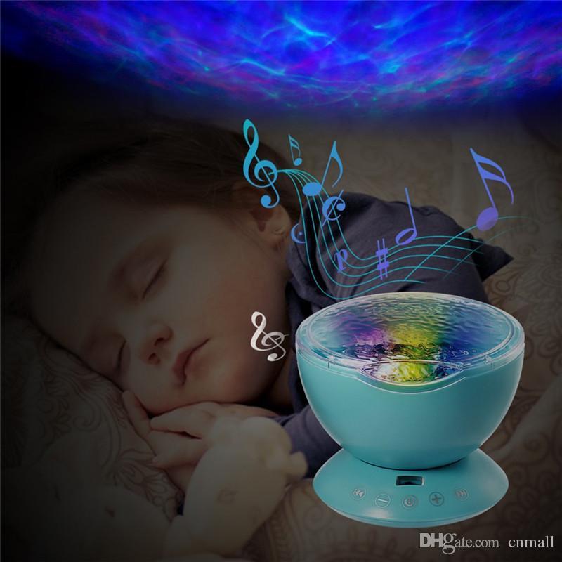 Ocean Wave Starry Sky Aurora LED Night Light Projector Luminaria Novelty Lamp USB Lamp Nightlight Illusion For Baby Children