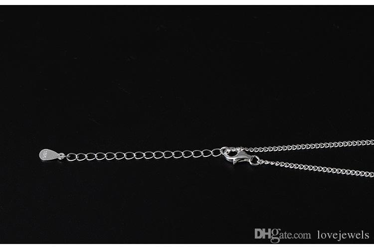 Bijoux fantaisie tempérament en argent sterling 925 et anciens colliers de perles de lotus incrustés de chaîne de clavicule de perle d'eau douce
