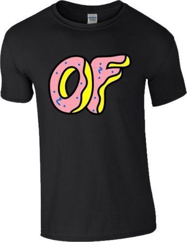 d1e4637a0110 Odd Future Doughnut T Shirt OFWGKTA Tyler The Creator Wolf Gang Earl Mens  Ladies T Sirt T Shirt Sites From Beidhgate03