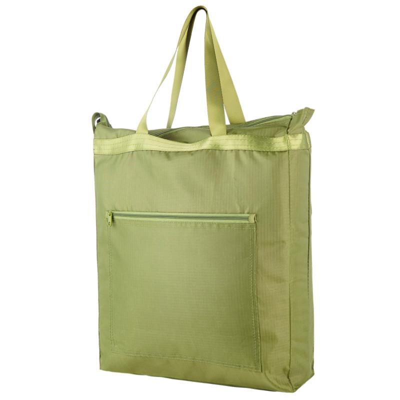 Waterproof Oxford Eco Friendly Shopping Bags Solid Reusable Handbag