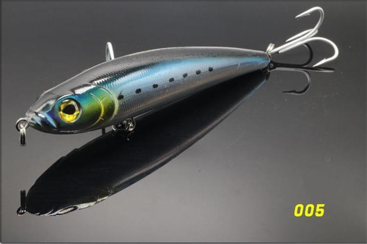 Большой карандаш воблер лазерный бас воблеры соленой воды рыболовные приманки крючки 125 г 18 см-7