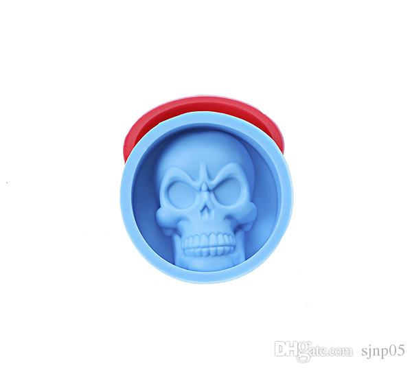 Silicon Skull Shape Baking Moulds Cake Ice Cream Chocolate Candy Mold Soap Making Molds Cake Cup Stencils Kitchen Tools