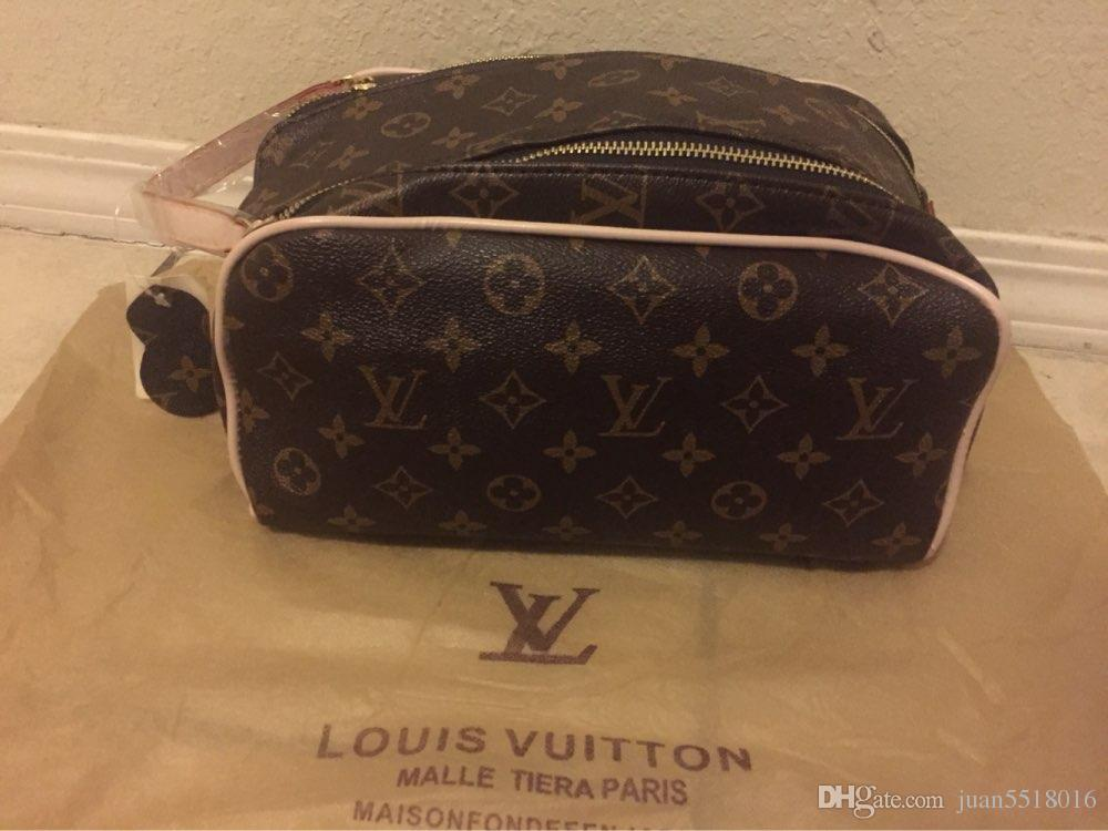 837df63c111c 2019 LOUIS VUITTON women Men Wash Bag Large Capacity Cosmetic Bags Makeup  Toiletry Bag Pouch From Yyzz188