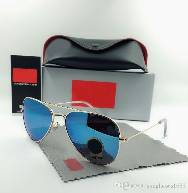 c51e26c6834 2018 Brand Designer Sunglasses Lens Pilot Fashion Sunglasses For Men And  Women Brand Designer Vintage Sport Sun Glasses With Case And Box Online  with ...
