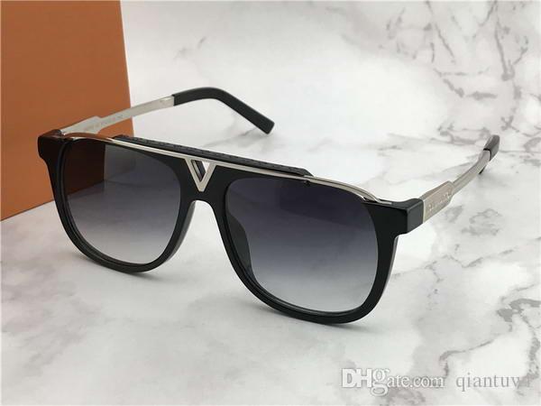 e1777f1fcd8e Mens Evidence Luxury Millionaire Sunglasses Silver Grey Lens Sonnenbrille  Luxury Outdoor Eyewear Driving Glasses Fashion New In Box Sport Sunglasses  ...