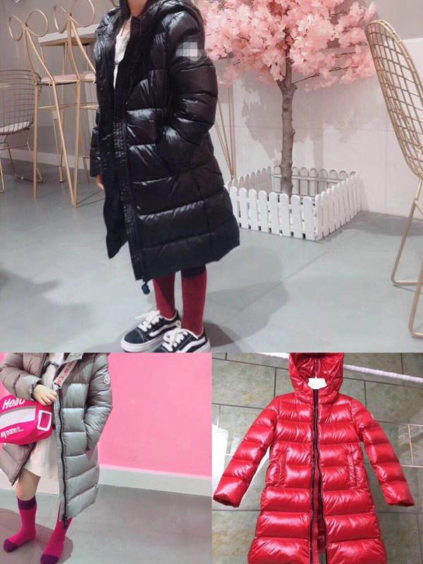 165ef331deb3 2018 in Stock Kids Girls Down Jacket White Duck Down Coat for Boys ...