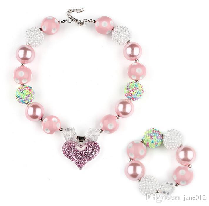 Fashion Jewelry Beaded Necklace And Bracelet 2019 Official Jewelry Sets