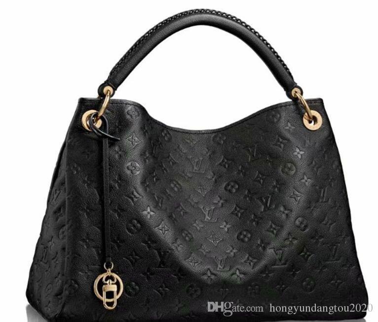 3fb0383c7562 LOUIS VUITTON Women Embossing Satchel SAC ARTSY Handbag MICHAEL CLUTCH KOR  Real Leather Print Satchel GUCCI fashion Shoulder Bag Best Tot Handbag  Shoulder ...