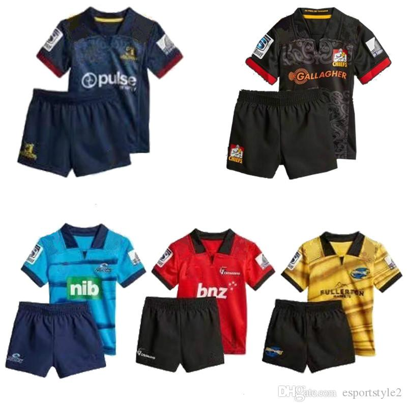 2020 2018 New Zealand Club Rugby Jerseys Kids Nrl Jersey Crusaders Highlanders Chiefs Blues Hurricanes Nrl National Rugby League Child Kit Shirt From Esportstyle2 24 88 Dhgate Com