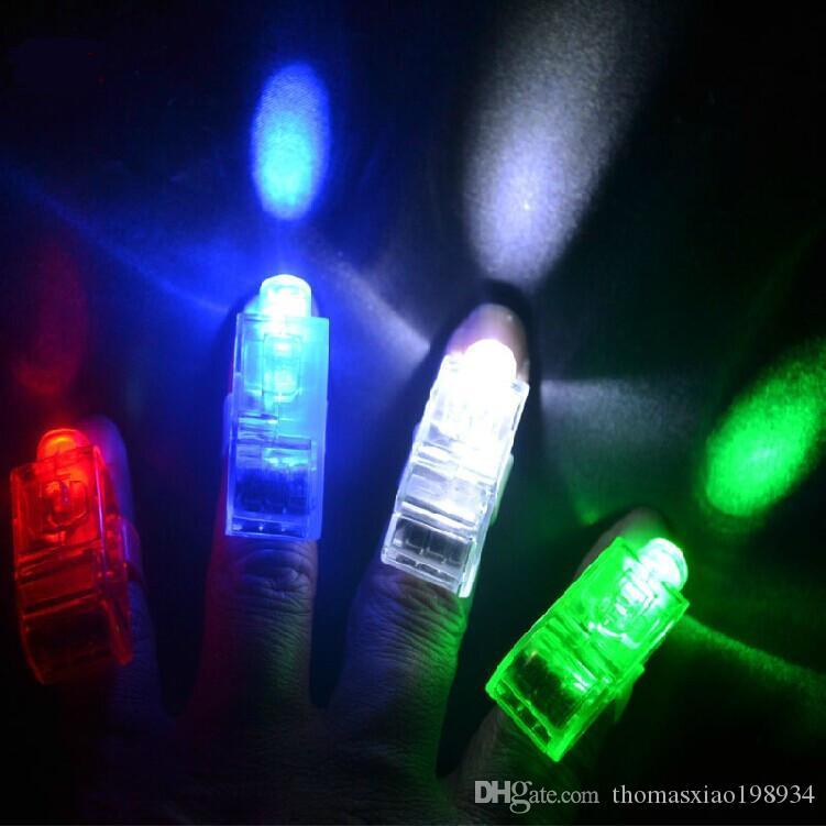 Grosshandel Hersteller Verkauf Led Finger Lampen Finger Ringgeschenke