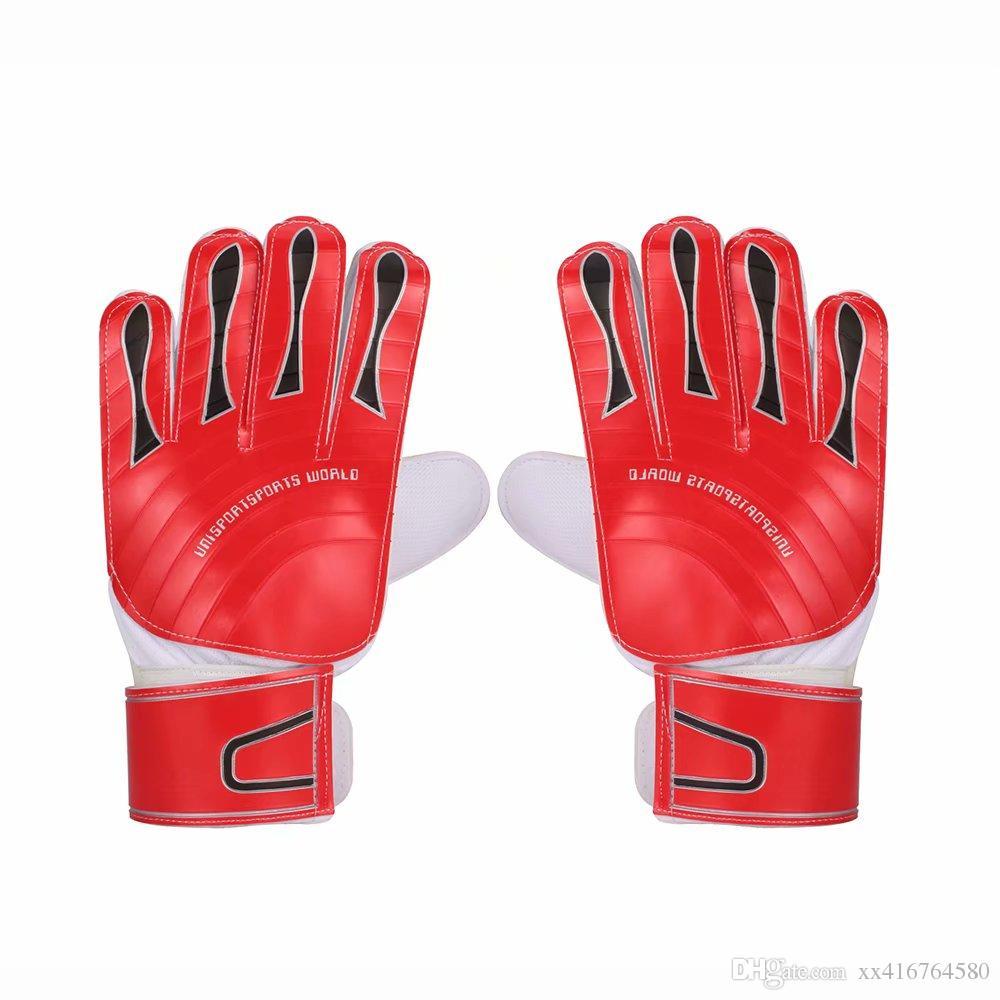 Professional adult Men Goalkeeper Gloves Finger Protection Thickened Latex Soccer Football Goalie Gloves Goal keeper Gloves
