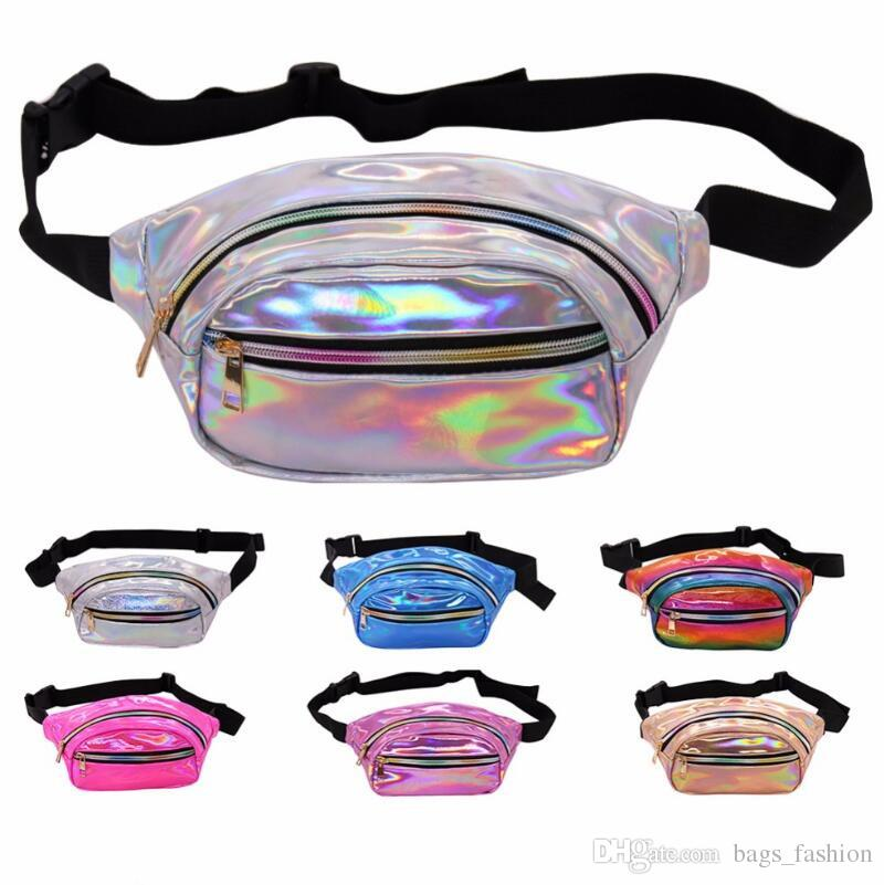 d4647118ed67 Holographic Fanny Pack Women Laser Bum Bag Travel Beach Shiny Waist Bags  Hengreda Raves Hip Bag Fashion Hologram PVC Travel Free shipping