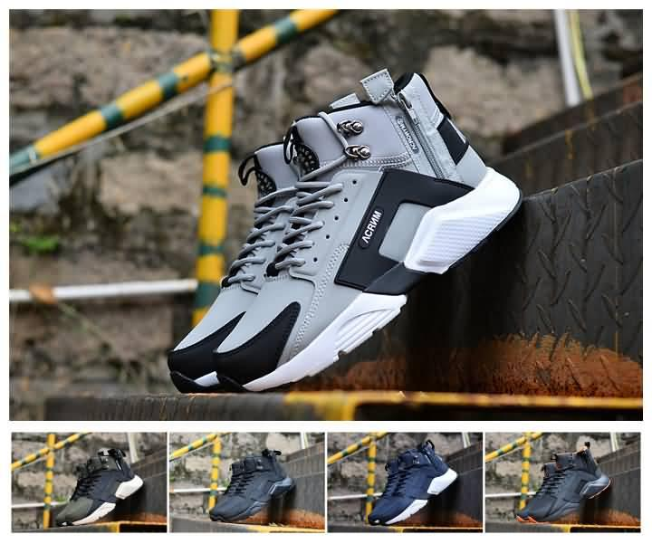 d5438931f602 2019 Winter Warm Men Huarache Ultra Running Shoes Huraches Booots Mens  Leather Huaraches Designer Sneakers Athletic Trainers Size 40-45 Huaraches  Mens Shoes ...