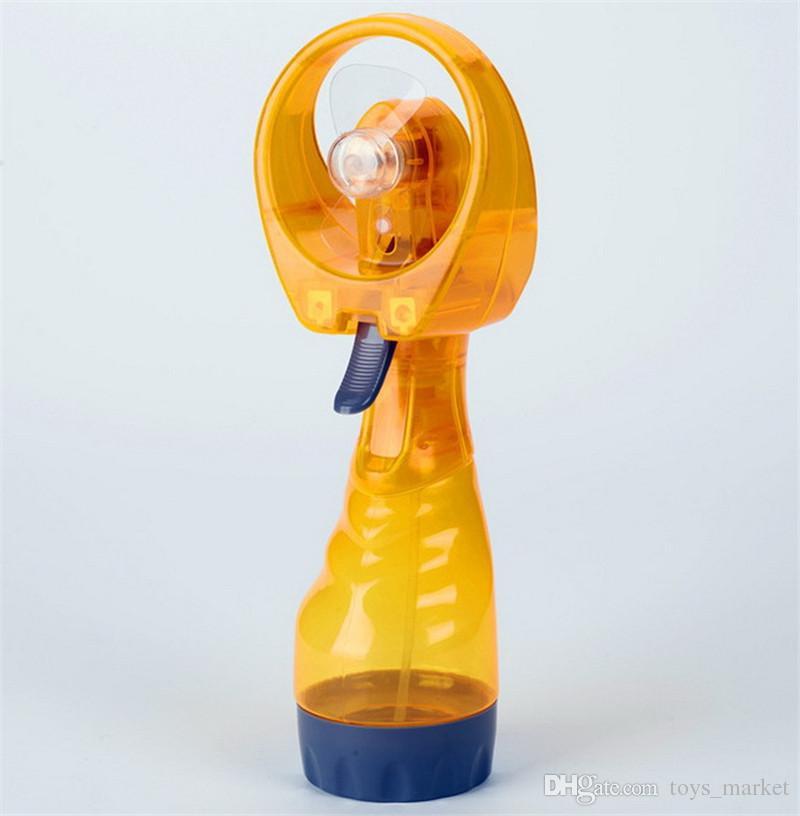 Mini Fans Hand Spray Tragbare Reise Griff Wasser Spray Kühlen Nebelventilator Flasche Nebel Sport Reise Strand Camp