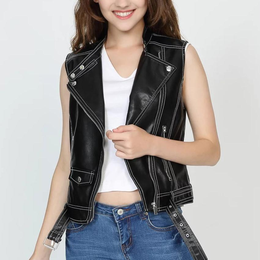 Veste en jean courte femme grande taille