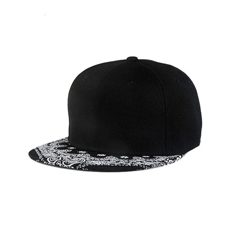 134dd95dfb2 New Neutral Golf Caps Outdoor Sports Sun Hats Male Black Cool Baseball Cap  Floral Pattern Flat Hip Hop Cap Sale 47 Brand Hats Vintage Baseball Caps  From ...