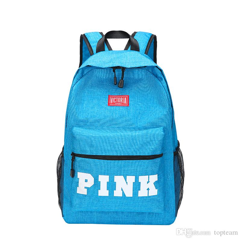 f24c0f62f3c8 PINK Bags 2018 Hot New Arrival Fashion Women School Bags Hot Punk Style Men Backpack  Designer Backpack Designer Backpack Bags PINK Bags Online with ...