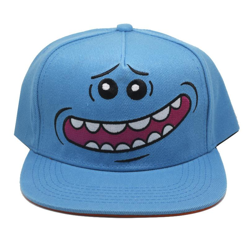 Rick And Morty Cartoon Cap Fashion Casual Funny Hip Hop Exquisite ... 2975c13c2910
