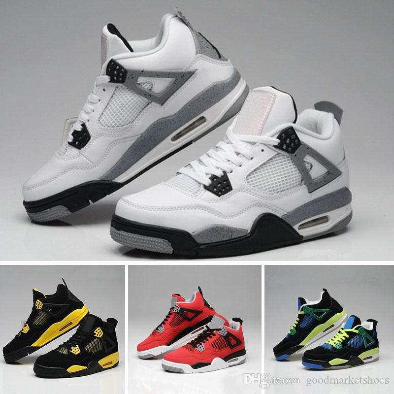 fd95e04c99e4cd With Box AAA +Quality KAWS X 4 XX Kaws Cool Grey White Glow Basketball  Shoes Men White Black Sports Sneakers 3 13 Online Shoes Cheap Shoes From ...