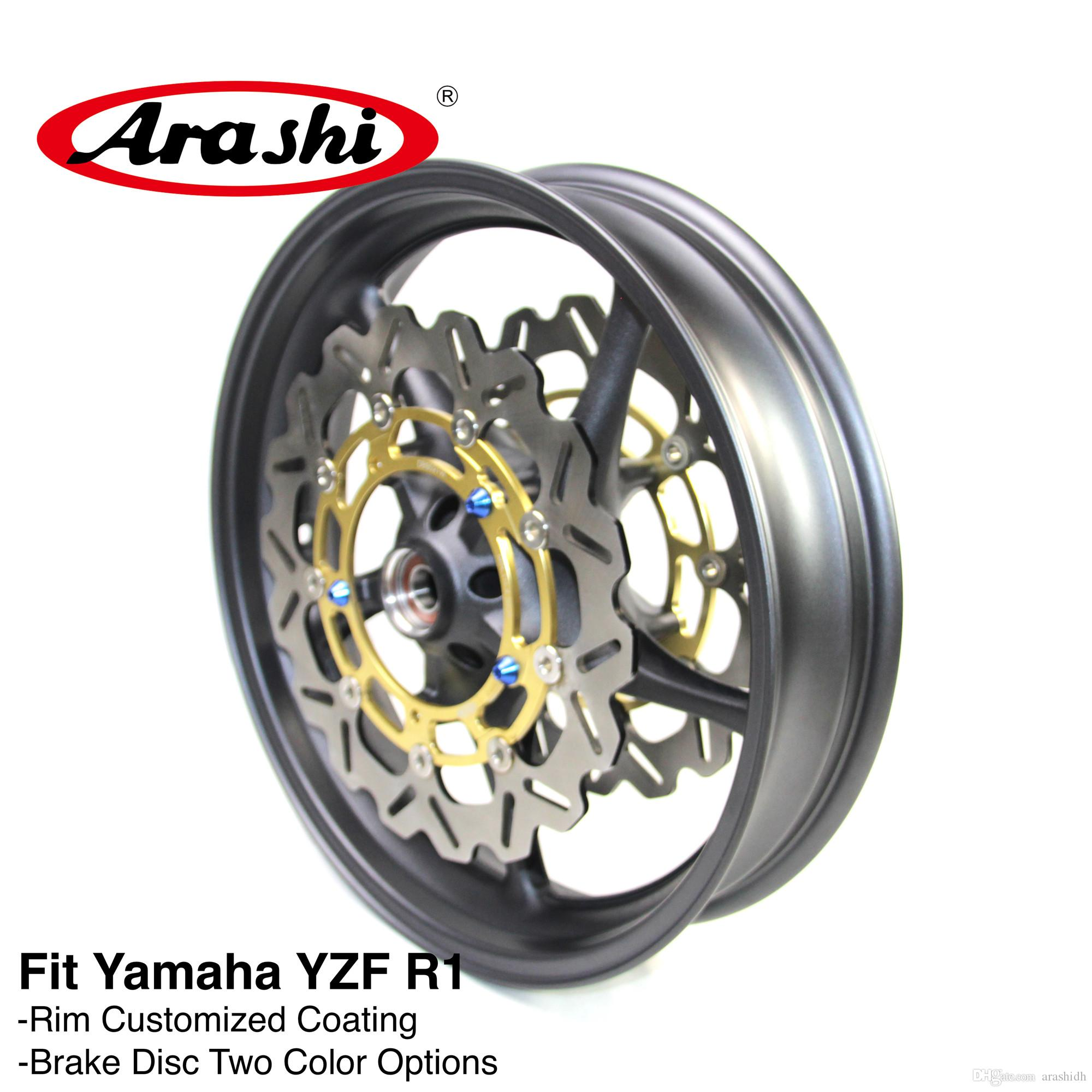 Arashi For Yamaha Yzf R1 2006 2012 Front Wheel Rim Brake Disc Disk Rotor Motorcycle Parts 2007 2008 2009 2010 2011 Yzf R1 Yzf R6