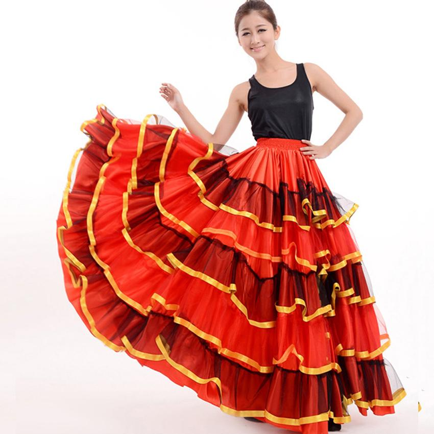 Acquista Gonna Flamenco Signore Flamenco Spagnolo Ballo In Costume Gonna  Ballo Senorita Rumba   Costume Di Flamenco   Gonna Danza Del Ventre A   65.81 Dal ... 76c0bb1e24f