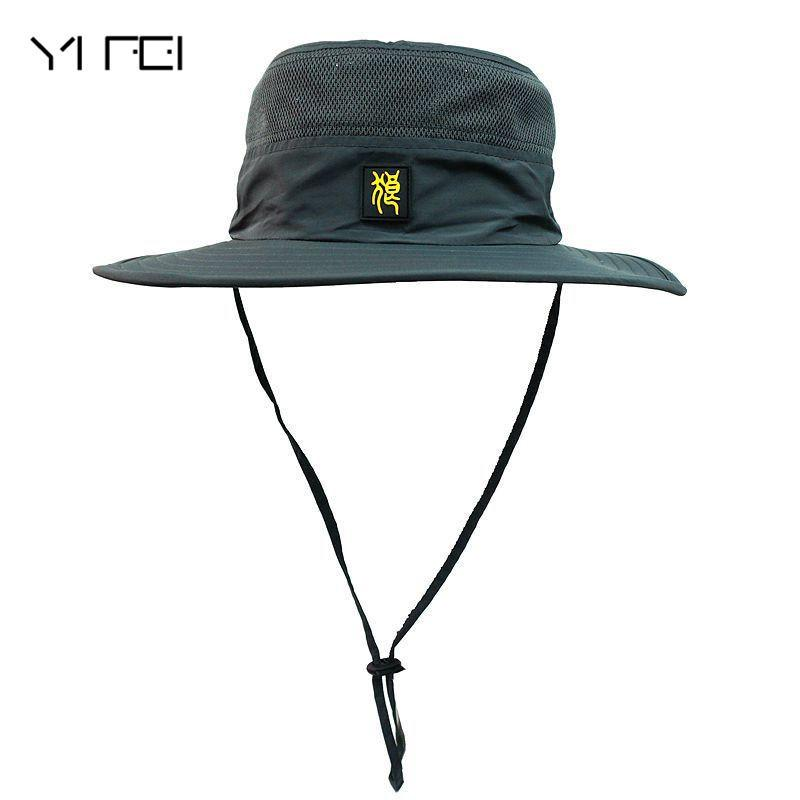 2019 Direct Selling Fisherman Hat Waterproof Breathable Fisherman Hat  Unisex Bob Hiking Sombrero Outdoor Caps Polyester Bucket Hat From Soutong cdb72b24908