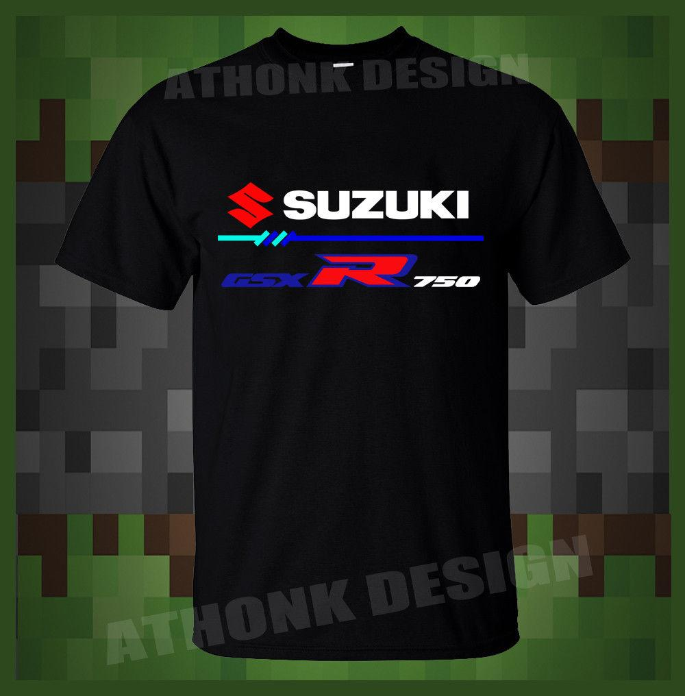 36599de26a9 NEW SUZUKI GSX-R 750 SPORT MOTORCYCLE MENS T-SHIRT Online with  12.99 Piece  on Customworld s Store