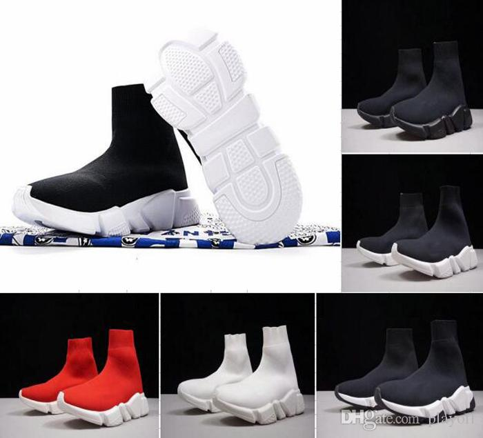 Factory Outlet Luxury Sock Shoe Paris Speed Trainer Running Shoes ...