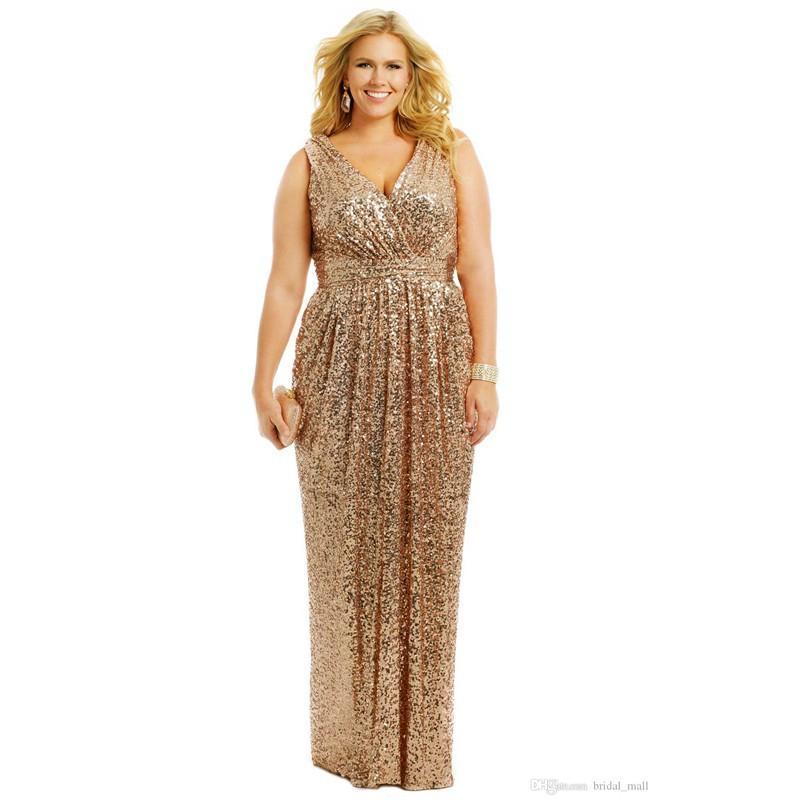 Custom Dresses Designs Gold Sequin Vestido De Festa Big Formal Gown Plus Size Abaya To Evening Dress Abendkleider For Women Prom