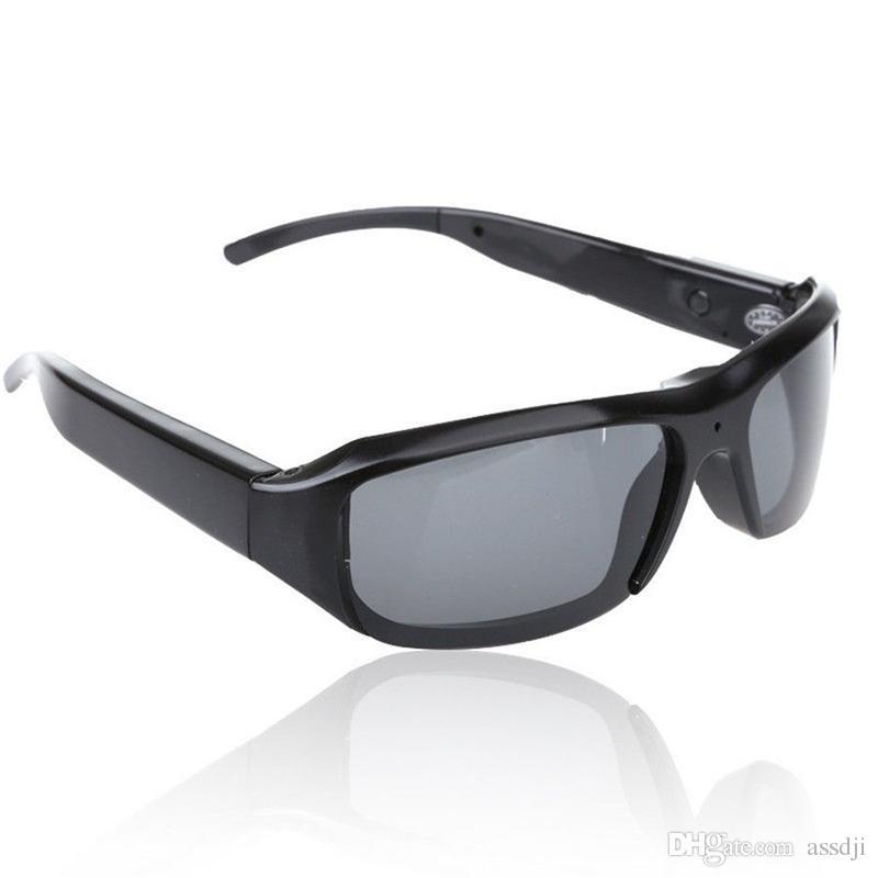 0810dafd0 Compre HD 1920x1080 P Óculos De Sol Da Câmera Portátil Mini Filmadora Óculos  Câmera Wearable Gravador De Vídeo Mini Câmera Óculos Suporte Gravação De  Voz De ...